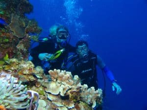 thrill of scuba diving