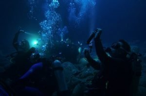 PADI Night Dive Training