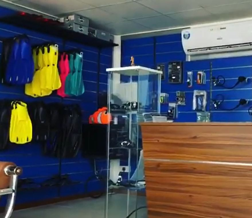 Nemo Diving Center Facilities and Diving Equipment